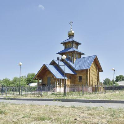 Храм Святого Преподобного Илии Муромца в селе Береговое