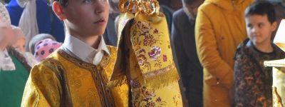 Епископ Валуйский побывал с архипастырским визитом в городе Алексеевка