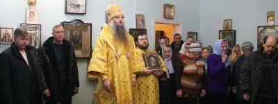 Епископ Валуйский совершил Божественную литургию в Никольском домовом храме возрождающегося Николо-Тихвинского женского монастыря