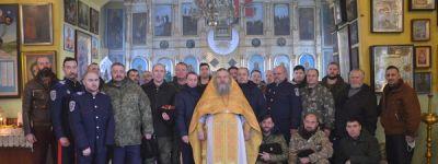 Панихиду по убиенным казакам совершили в храме в Головчино
