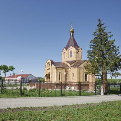 Храм Святителя Николая в селе Грузское