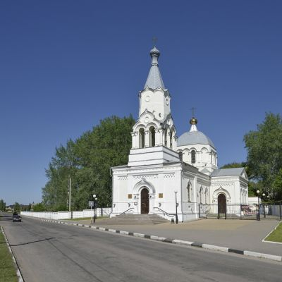 Храм Усекновения главы Иоанна Предтечи в посёлке Уразово