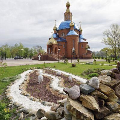 Храм в честь иконы Божией Матери «Спорительница хлебов» в Дубовом