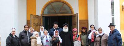 Художники из Египта, Марокко, Сирии, Ирана побывали в Свято-Никольском храме в Ракитном