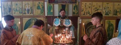 Впервые в новом тысячелетии провели Божественную литургию в Сергеевке