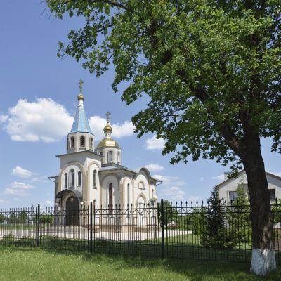 Храм Святого равноапостольного князя Владимира и великомученика и целителя Пантелеимона в селе Вязовое