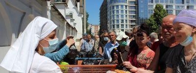 Белгородское сестричество милосердия начало акцию «Подари маску»