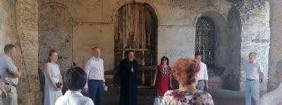 Состоялось собрание попечительского совета по восстановлению храма святого благоверного Александра Невского в Поповке