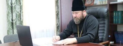 Епископ Губкинский принял участие в оценке выпускных работ белгородских семинаристов