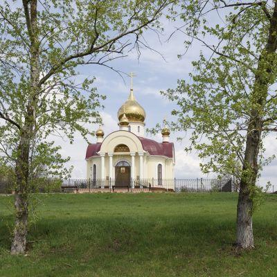 Храм святого великомученика Георгия Победоносца в селе Толоконное