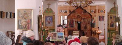 Детскую Божественную литургию совершили в Камызино
