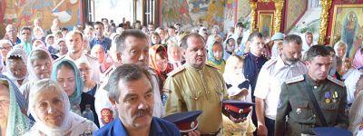Божественную литургию в Александро-Невском соборе в Старом Осколе в престольный праздник возглавил митрополит Белгородский