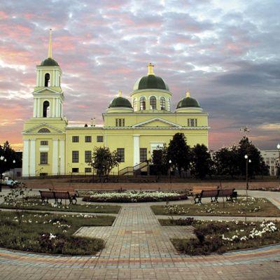 Собор Покрова Пресвятой Богородицы в городе Бирюч