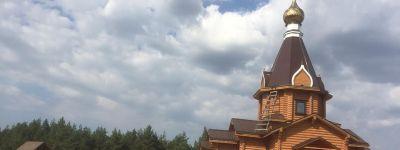 Храм Спаса Нерукотворного строят в Волоконовке