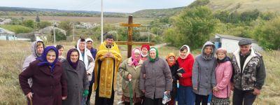 Поклонный крест освятили в Конопляновке