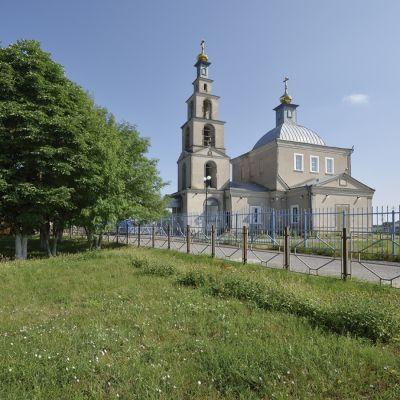 Храм великомученика Димитрия Солунского в селе Яблоново