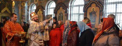 Престольный праздник в честь Димитрия Солунского встретили в Скородном вместе с епископом Губкинским
