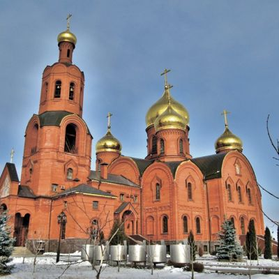 Спасо-Преображенский кафедральный собор в Губкине