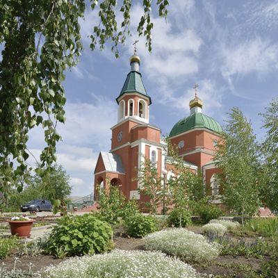 Храм Святой Великомученицы Параскевы Пятницы в посёлке Пятницкое