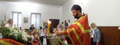 Ребята из детского сада «Улыбка» побывали в храме
