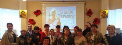 Всех Татьян поздравили с именинами в Грайворонском благочинии