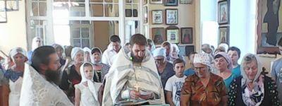 Молебен перед началом учения отроков состоялся в Вейделевке