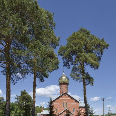 Храм в честь Святителя Николая Чудотворца в посёлке Ивня