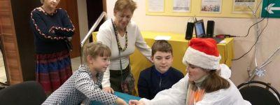 Квест «Ночь перед Рождеством или рождественские приключения для детей и родителей» прошёл в Майском для детей-инвалидов