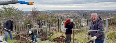 Жители Белгорода помогли Богородице-Тихвинскому женскому монастырю в Борисовке