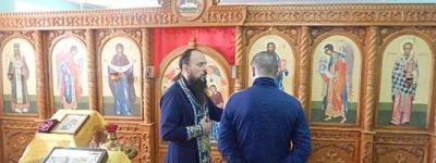 Белгородский священник провёл богослужение в храме в СИЗО