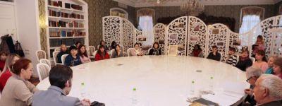 О духовных основах православной семьи  побеседовали в Педагогической мастерской «Храм души моей» белгородские православные гимназисты