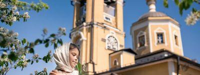 Белгородские сёстры милосердия записали видеопоздравление с праздником Вознесения для пациентов детского отделения