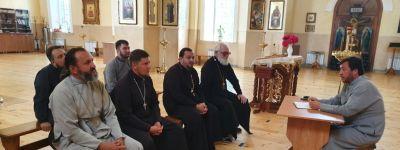 В храме Казанской иконы Божией Матери прошло собрание священников 2-го Яковлевского благочиния