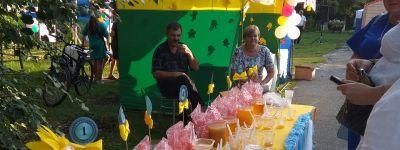 В праздник Всемилостивого Спаса в селе Насоново состоялся традиционный праздник меда «Спасибо, милая пчела!»