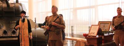 Прохоровский благочинный отслужил литию на могиле русского воина
