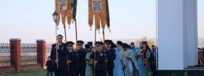 Епископ Губкинский совершил литургию на престольном празднике в Шопино