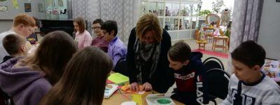 Пасхальную открытку научились делать школьники в Губкинском краеведческом музее