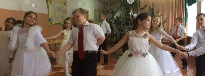 Праздник «От Рождества до Святого Крещения» прошёл в школе в Гостищево