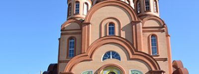 Престольный праздник встретили в старооскольском храме преподобного Сергия Радонежского