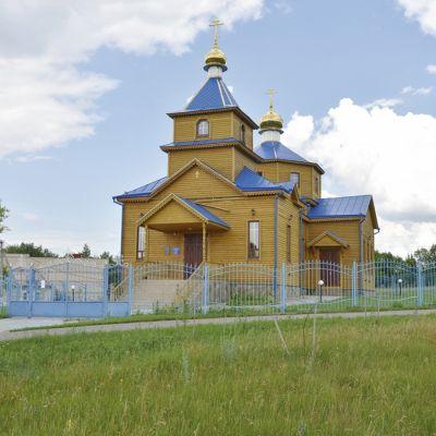 Храм Успения Пресвятой Богородицы в селе Соколовка