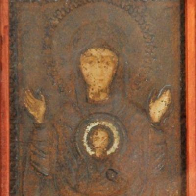 Икона Пресвятой Богородицы «Знамение»