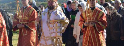 Епископ Губкинский возглавил престольный праздник в Бутово