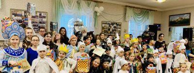 Рождественский утренник «Мир и созидание» состоялся в Воскресной школе Смоленского собора в Белгороде