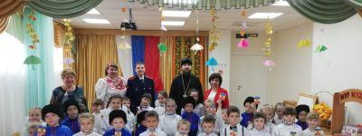 Посвящение в казачата прошло в детском саду №2 «Сказка» поселка Троицкий