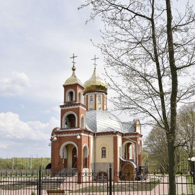 Храм Рождества Христова в селе Весёлая Лопань