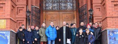 Ребята из 8 благочиний Губкинской епархии участвовали в спортивных состязаниях «Под Вифлееемской звездой»