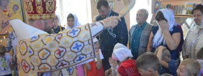 Престольный праздник отметили в Гостищево