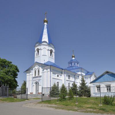 Храм Казанской Божией Матери в посёлке Томаровка
