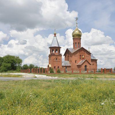 Храм Преподобного Сергия Радонежского в селе Роговатое
