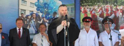 Епископ Савва принял участие в праздновании 425-летия образования города Валуйки и 90-летия образования Валуйского района